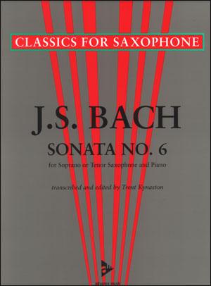 J. S. Bach - Sonata No. 6 - Tenor Sax/Piano