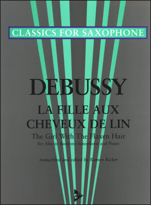 Debussy - La Fille Aux Cheveux De Lin (The Girl With The flaxen Hair) - Alto Sax/Piano