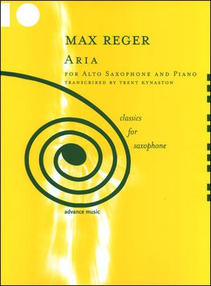 Max Reger - Aria For Alto Saxophone/Piano
