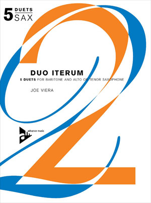 Duo Iterum 5 Duets For Baritone and Alto or Tenor Saxophone