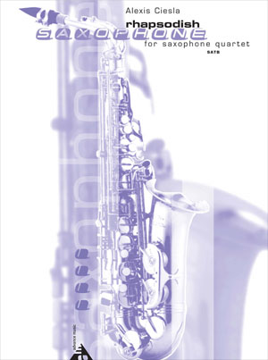 Rhapsodish for Saxophone Quartet