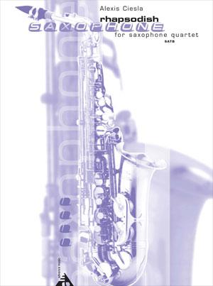 Rhapsodish for Saxophone Quartet