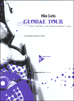 Global Tour for Saxophone Quartet (SATB)