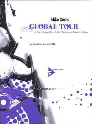 Global Tour for Saxophone Quartet (SATB)