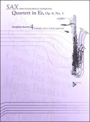 Sax Quartett In Eb, Op. 8, No. 3