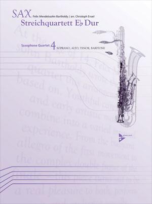 Sax Streichquartett Eb Dur