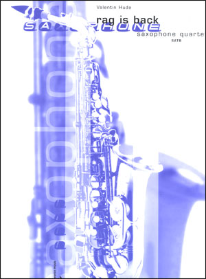 Rag Is Back - Saxophone Quartet (SATB)