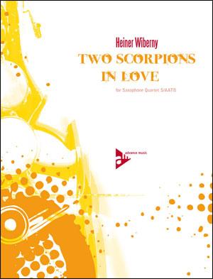 Two Scorpions In Love - Sax Quartet (S/AATB)
