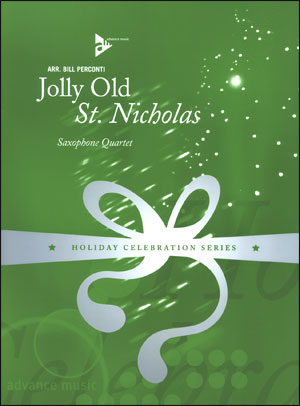 Jolly Old St. Nicholas - Saxophone Quartet
