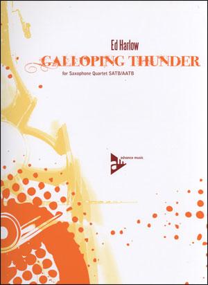 Galloping Thunder - Sax Quartet SATB/AATB