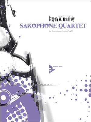 Gregory Yasinitsky Sax Quartet