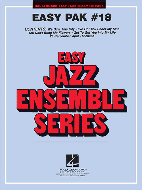 Easy Jazz Ensemble Pak 18