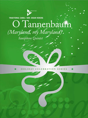 O Tannenbaum (Maryland, my Maryland) Saxophone Quintet