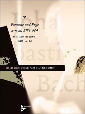 FANTASIE UND FUGE A-MOLL - Sax Quintet