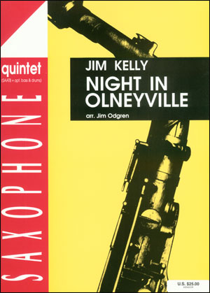 Night In Olneyville - Saxophone Quintet