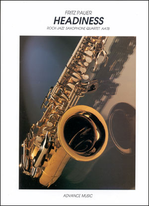 Headiness - Saxophone Quartet (SATB)