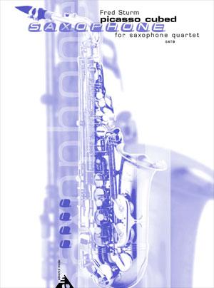 Picasso Cubed - SATB Saxophone Quartet
