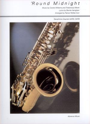 Round Midnight For Saxophone Quartet