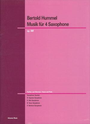 Musik für 4 Saxophone
