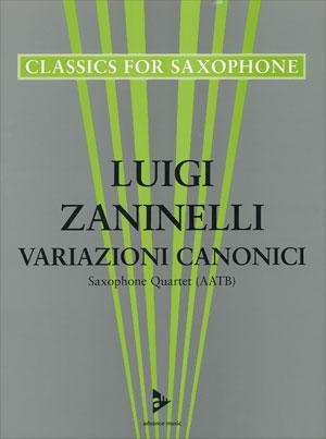 Variazioni Canonici - Saxophone Quartet