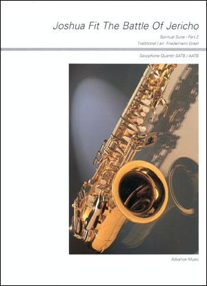 Joshua Fit The Battle Of Jericho - Sax Quartet