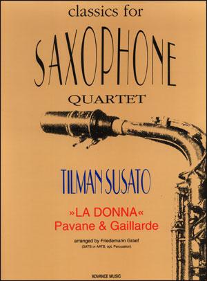 """""""La Donna"""" - Saxophone Quartet"""