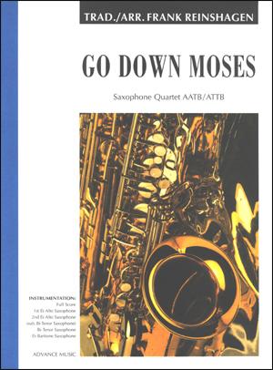 Go Down Moses - Saxophone Quartet