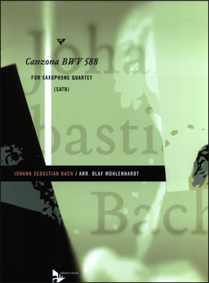 Canzona BWV 588 - Saxophone Quartet