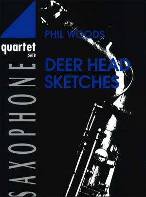 Deer Head Sketches - Saxophone Quartet