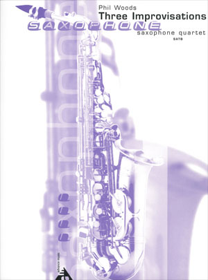 Three Improvisations for Saxophone Quartet SATB
