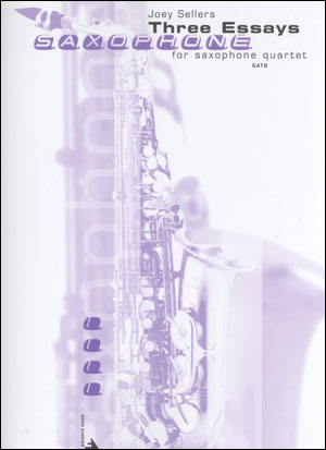 Three Essays for Saxophone Quartet