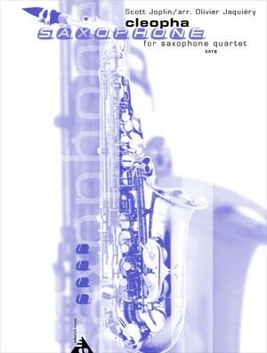 Cleopha for Saxophone Quartet