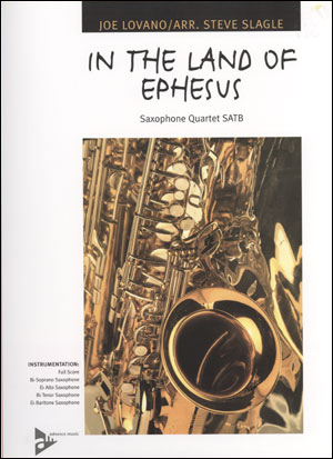 In The Land Of Ephesus - Saxophone Quartet SATB