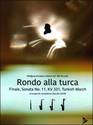 Rondo Alla Turca - Saxophone Quartet