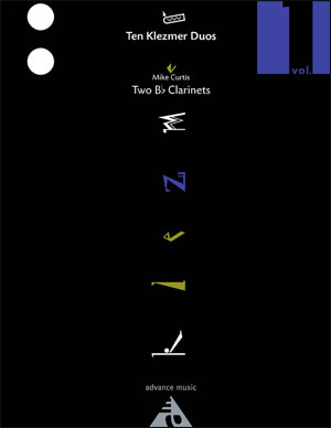 Ten Klezmer Duos for Two Clarinets