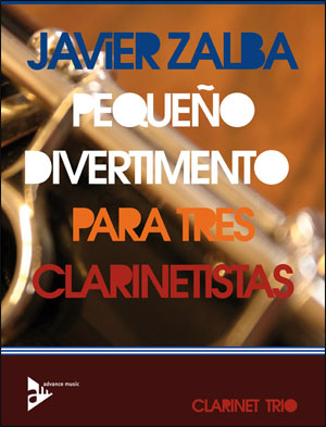 Pequeño Divertimento Para Tres Clarinetistas - Clarinet Trio