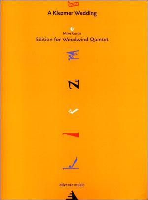 A Klezmer Wedding for Woodwind Quintet - flute, oboe, clarinet, horn and bassoon