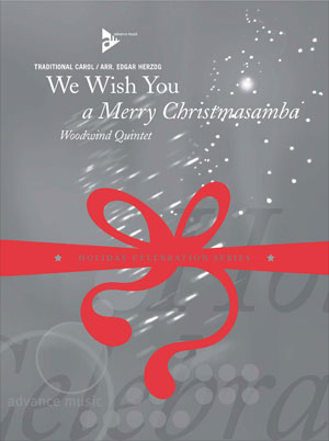 We Wish You a Merry Christmasamba - Woodwind Quartet