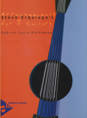 Arrangements for 2 Guitars - Sicilienne