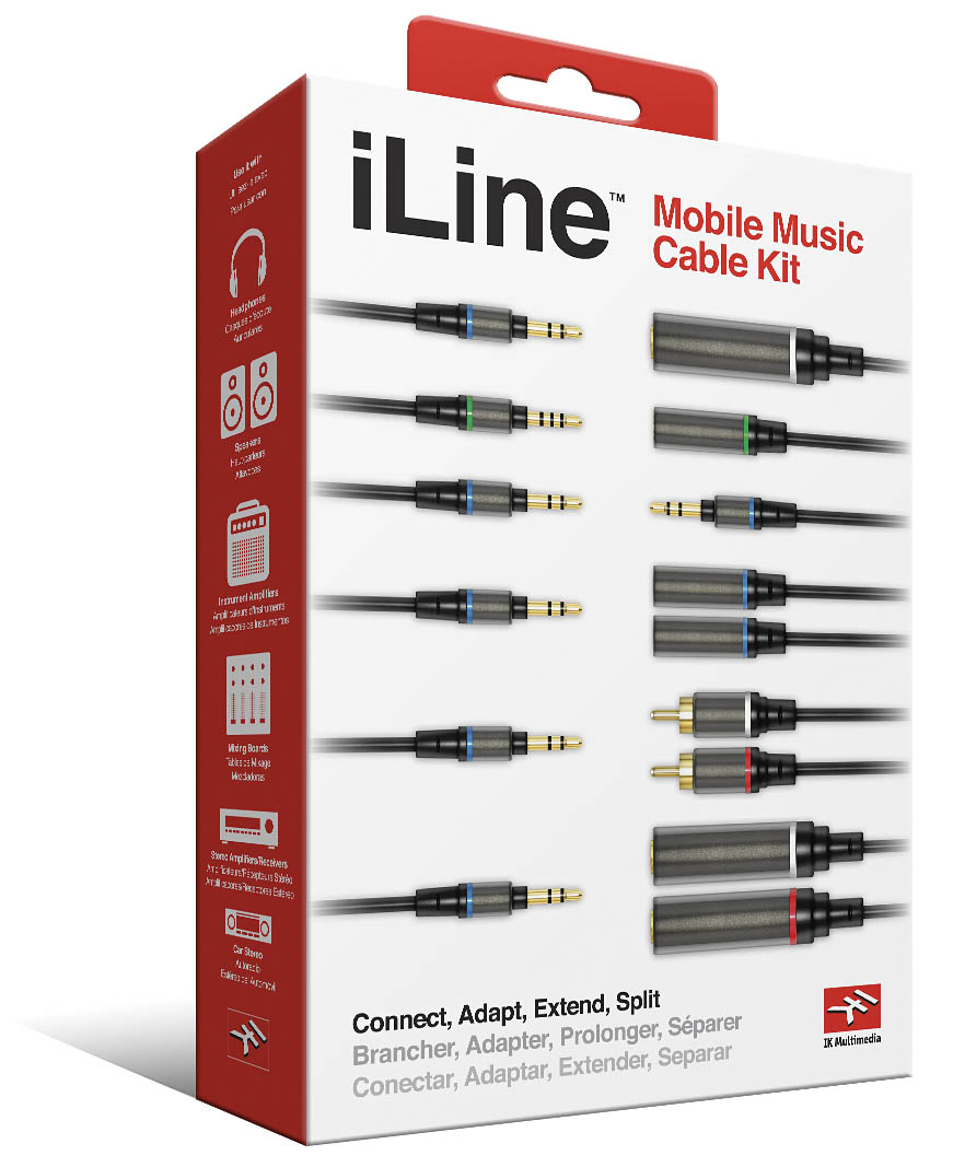 iLine Cable Kit for iOS Devices