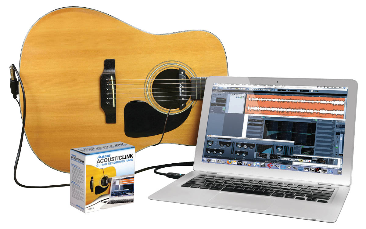 Alesis AcousticLink - Guitar Recording Pack