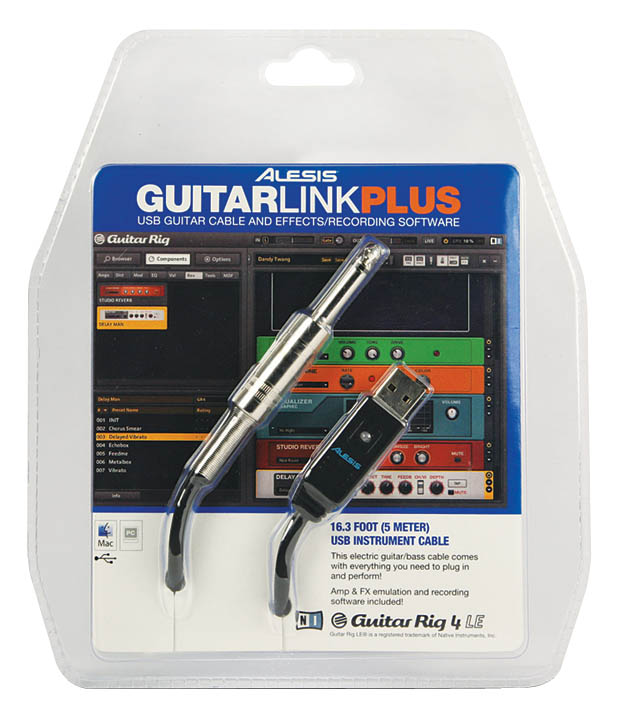 GuitarLink Plus: Computer Guitar Processing System