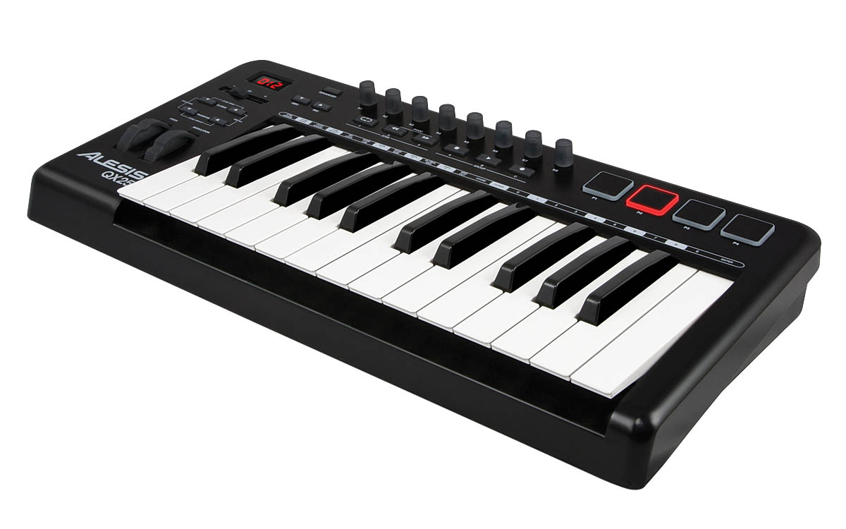 QX25 25-Key Advanced MIDI Keyboard Controller
