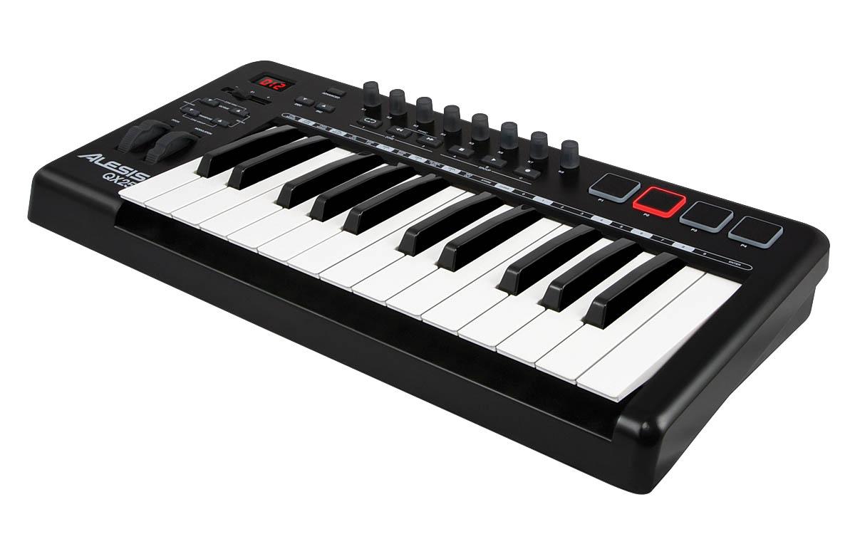 QX25 25-Key Advanced MIDI Keyboard Controller
