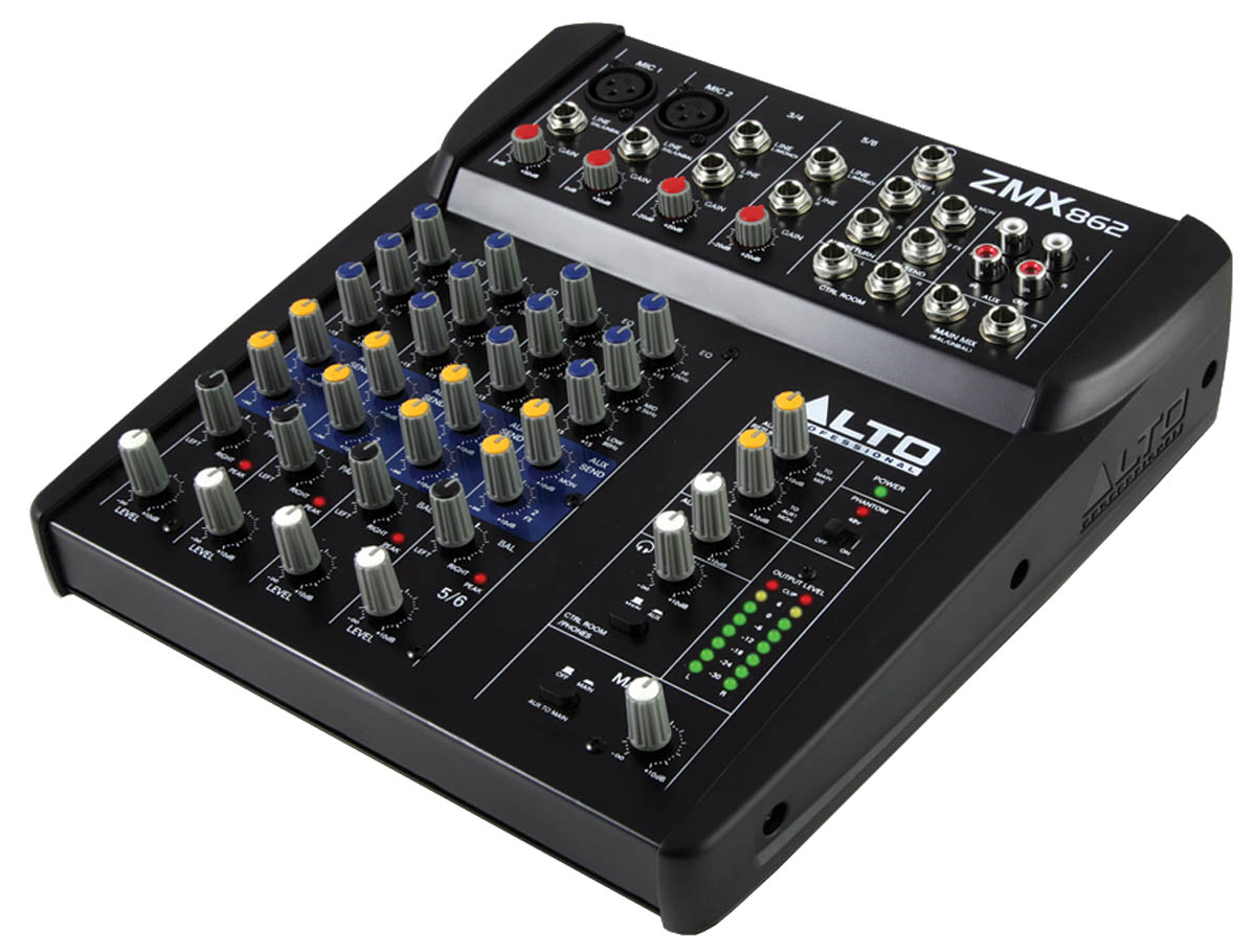 ZMX862: 6-Channel Compact Mixer