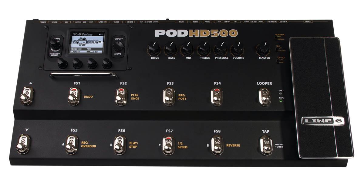 POD® HD500X