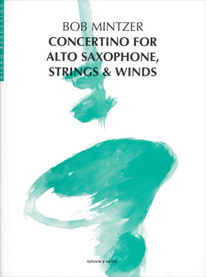 Concertion for Alto Saxophone, Strings & Winds