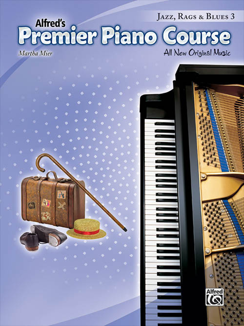 Premier Piano Course: Jazz, Rags & Blues 3