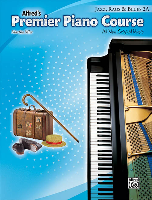 Premier Piano Course: Jazz, Rags & Blues 2A