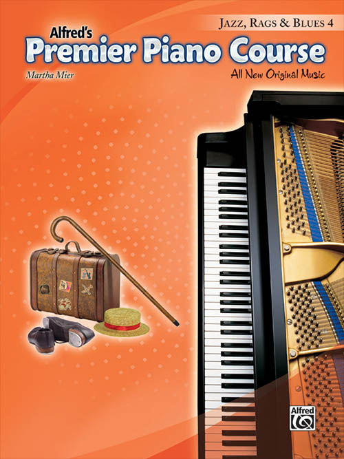 Premier Piano Course: Jazz, Rags & Blues 4